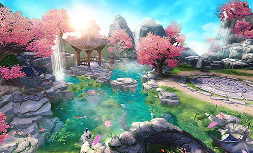 《神雕侠侣2》手游截图:桃花岛