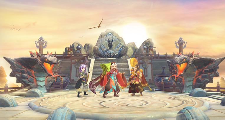 神雕侠侣玩家截图:白驼山
